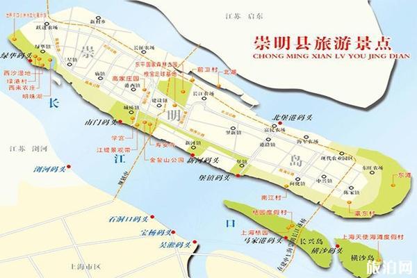 崇明島十大旅游景點 崇明島景點推薦