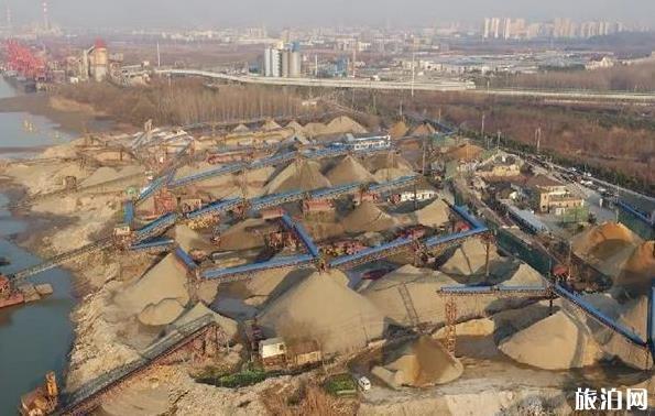 南京三山矶原料码头工业旅游景区