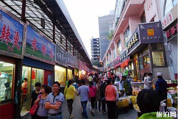 青海西寧步行街排行榜 哪里好逛