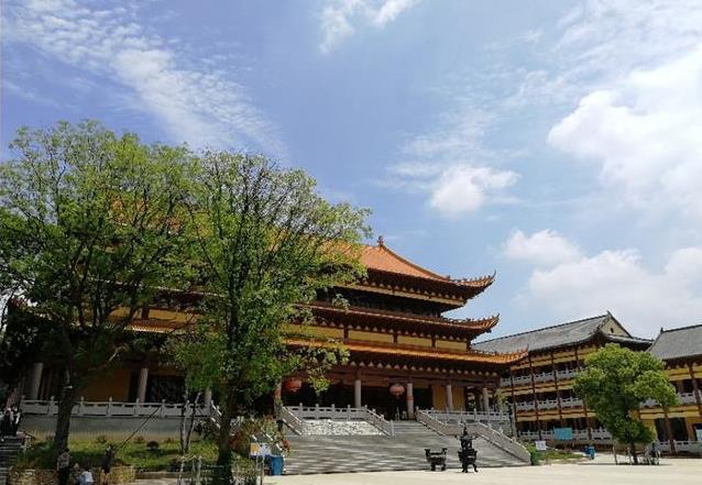 武漢八分山風景圖
