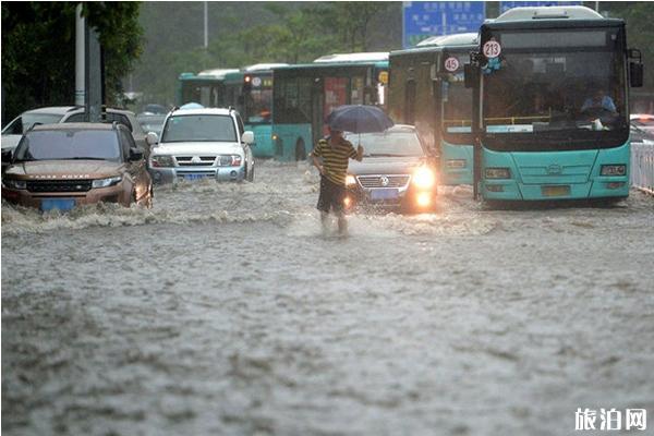 2020年七月全国哪些地方暴雨