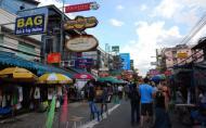 曼谷考山路住宿费用及酒吧美食攻略