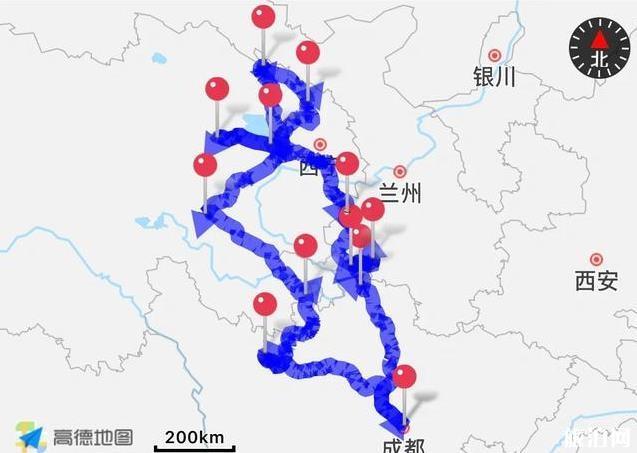 川甘青大环线自驾游攻略
