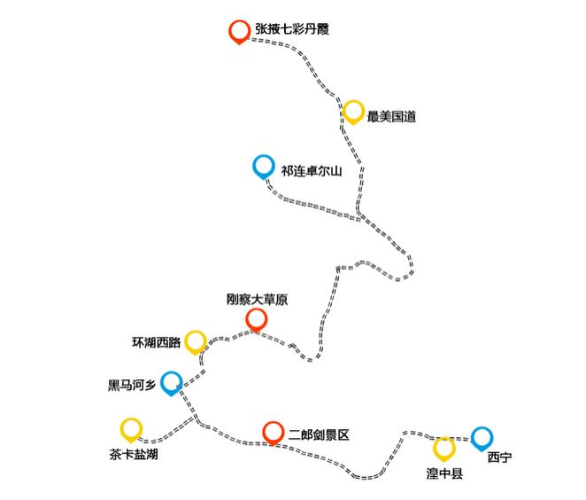 张掖市旅游景点图片