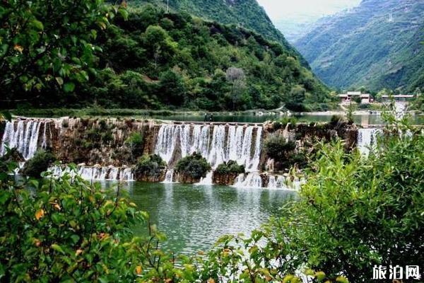 陇南宕昌官鹅沟景区图片