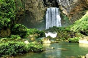 贵阳羊皮洞瀑布最佳观赏期