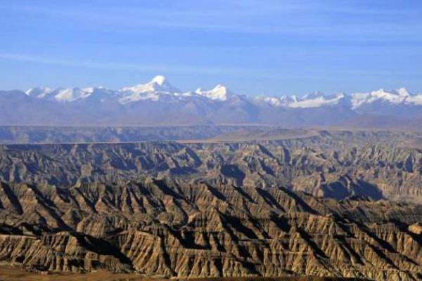 西藏着作达土林国家地质公园地质遗迹和主要景点