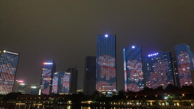 2020國慶佛山千燈湖燈光秀觀賞地點及表演時間項目