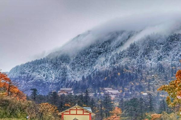 峨眉山下雪了嗎2020 峨眉山下雪能看到日出嗎