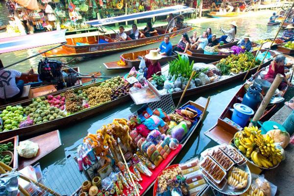 丹嫩沙多水上市場營業時間交通及游玩攻略