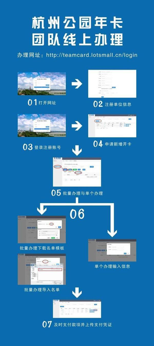 2021杭州公園年卡可以去哪些地方及辦理指南
