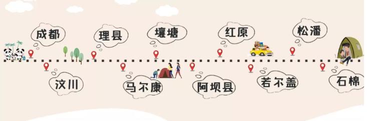 四川自驾游3天最佳路线-11月