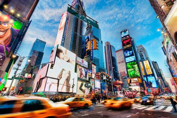 紐約曼哈頓時代廣場地址簡介及景區介紹