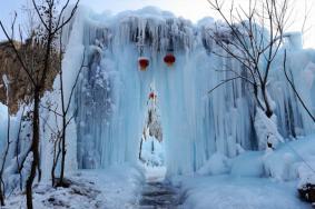 石家莊冬季游玩好去處 石家莊冬季哪里可以看冰瀑