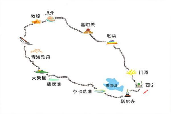 2021青海大環線自駕游最佳路線 青海大環線最佳旅游時間