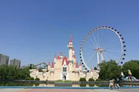 2021年4月6日起北京石景山游樂園摩天輪項目暫停開放