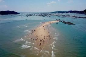 <strong>时隐时现的海中沙滩—鱼骨沙洲</strong>