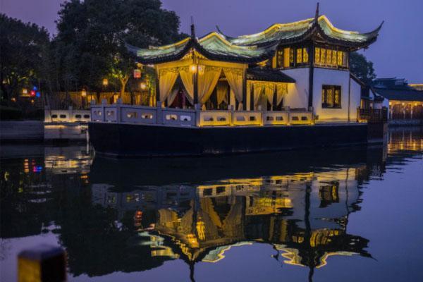蘇州夜游去哪里 蘇州燈光秀在哪里
