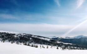 新疆滑雪胜地