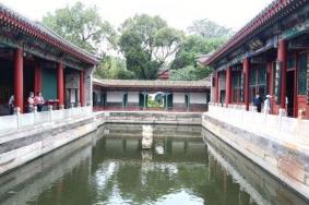 2021因道路施工北京北海公园静心斋北门暂停开放